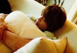 中間淳太の寝顔画像