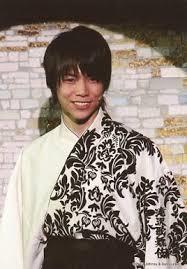重岡大毅の和服画像