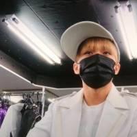 神山智洋の黒マスク